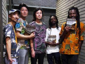 2018年11月11日(日)アフリカ大陸20周年記念! パシチガレムビラズ ライブ